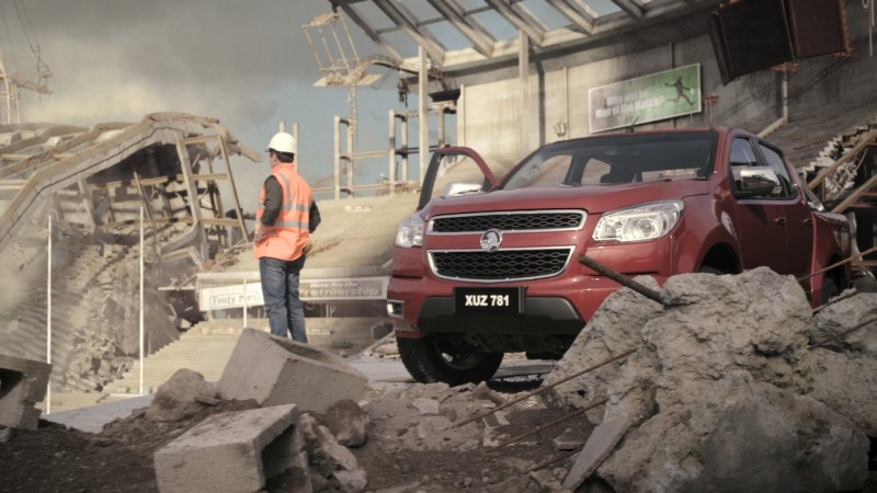 Holden Colorado - Launch