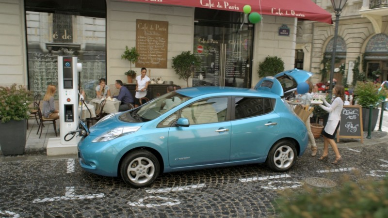 Nissan Leaf - Sunrise to Sunset