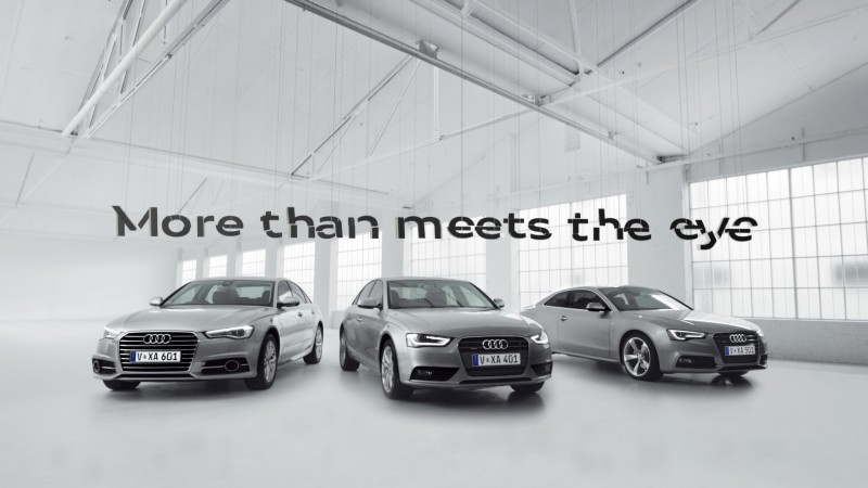 Audi - More Than Meets The Eye